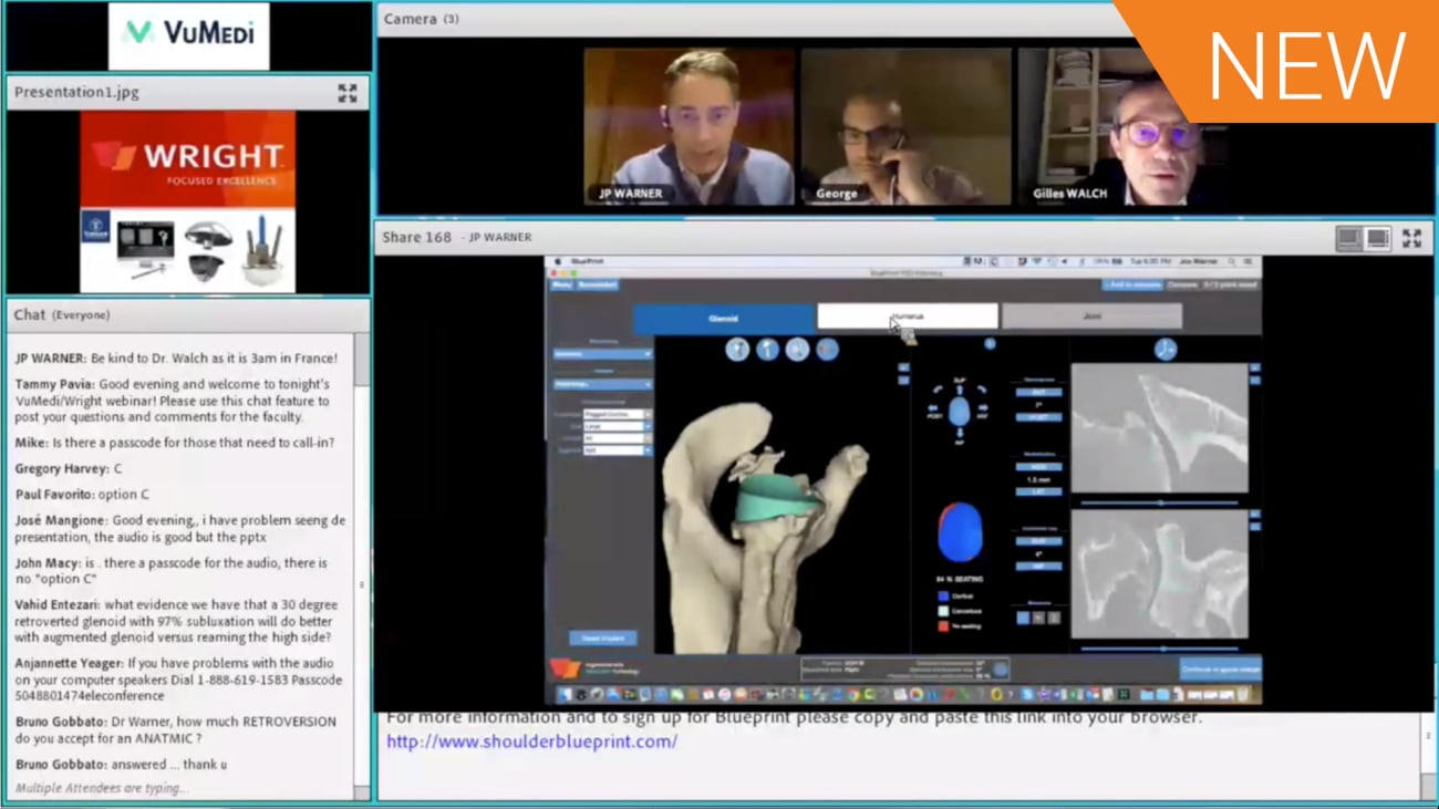 BLUEPRINT™ Complex Case Debate: Pre-Operative Planning for an Augmented Anatomic TSA with a B2 Type Glenoid [CAW-9766]