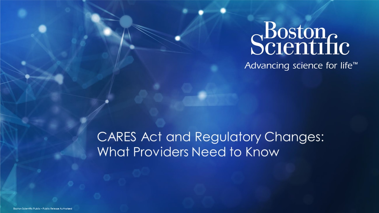 CARES Act: What Providers Should Know