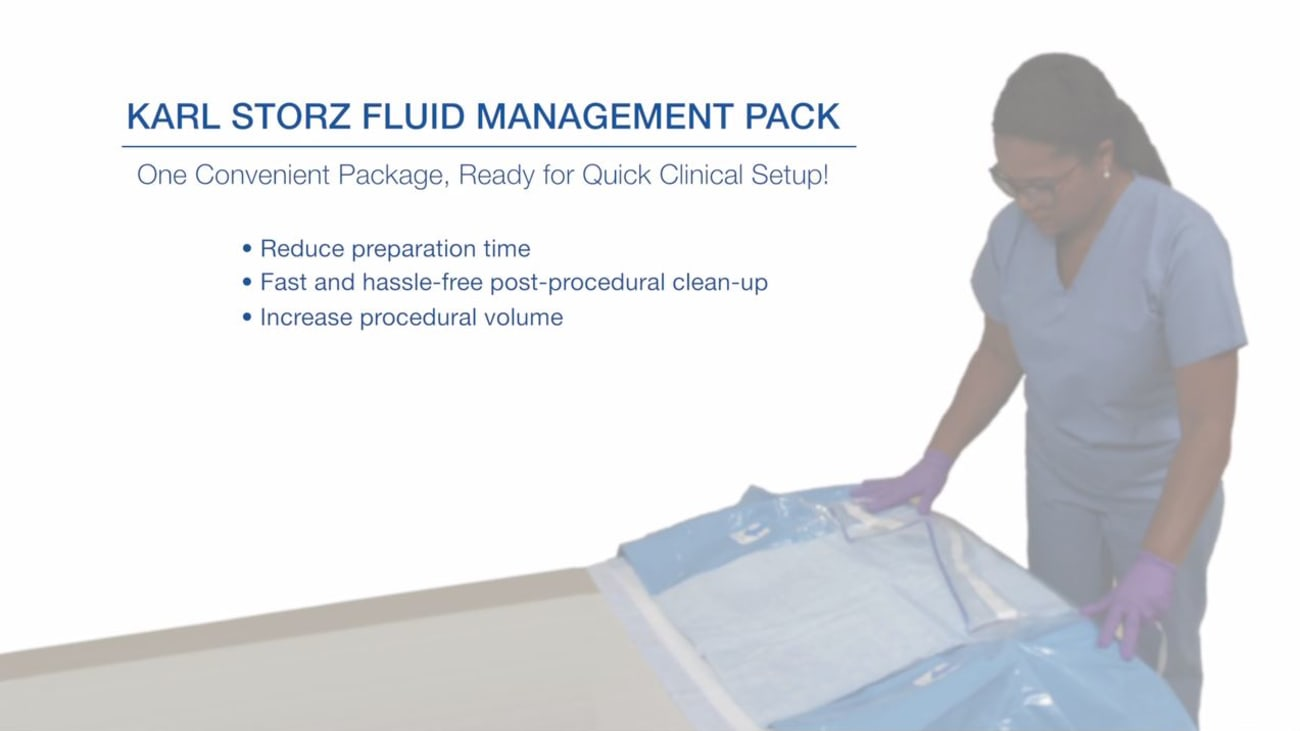 Fluid Management Pack for In-Office Procedures