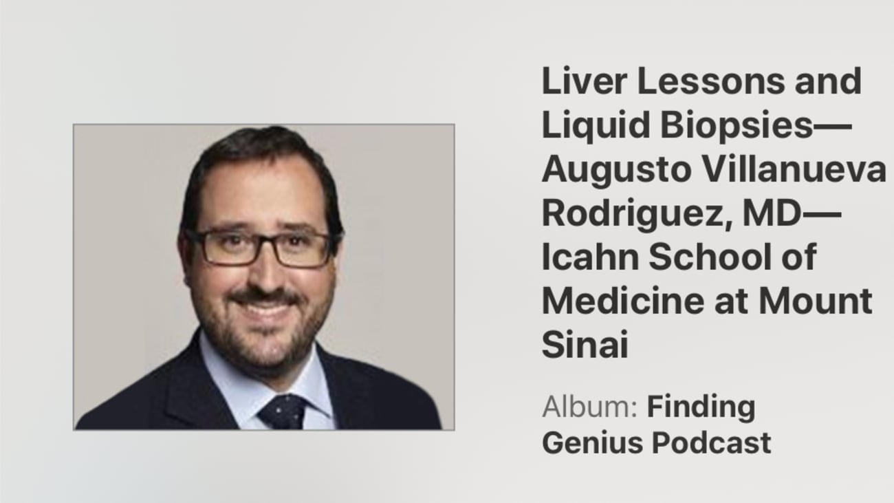 Liver Lessons and Liquid Biopsies