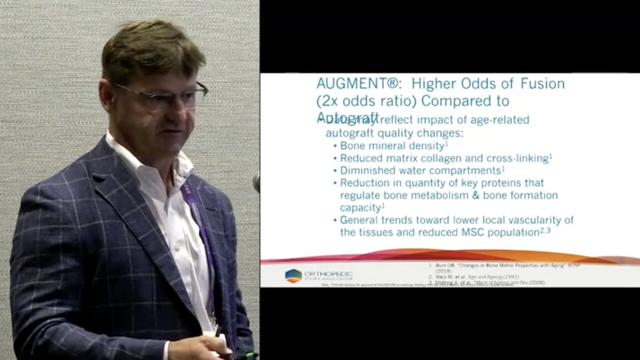 AUGMENT® The Impact of Age on Odds of Fusion Success feat. Dr. Greg Berlet