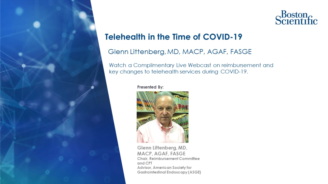 Telehealth in the Time of COVID-19