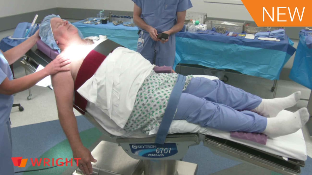Approach Patient Positioning Meded 8083 Broadcastmed