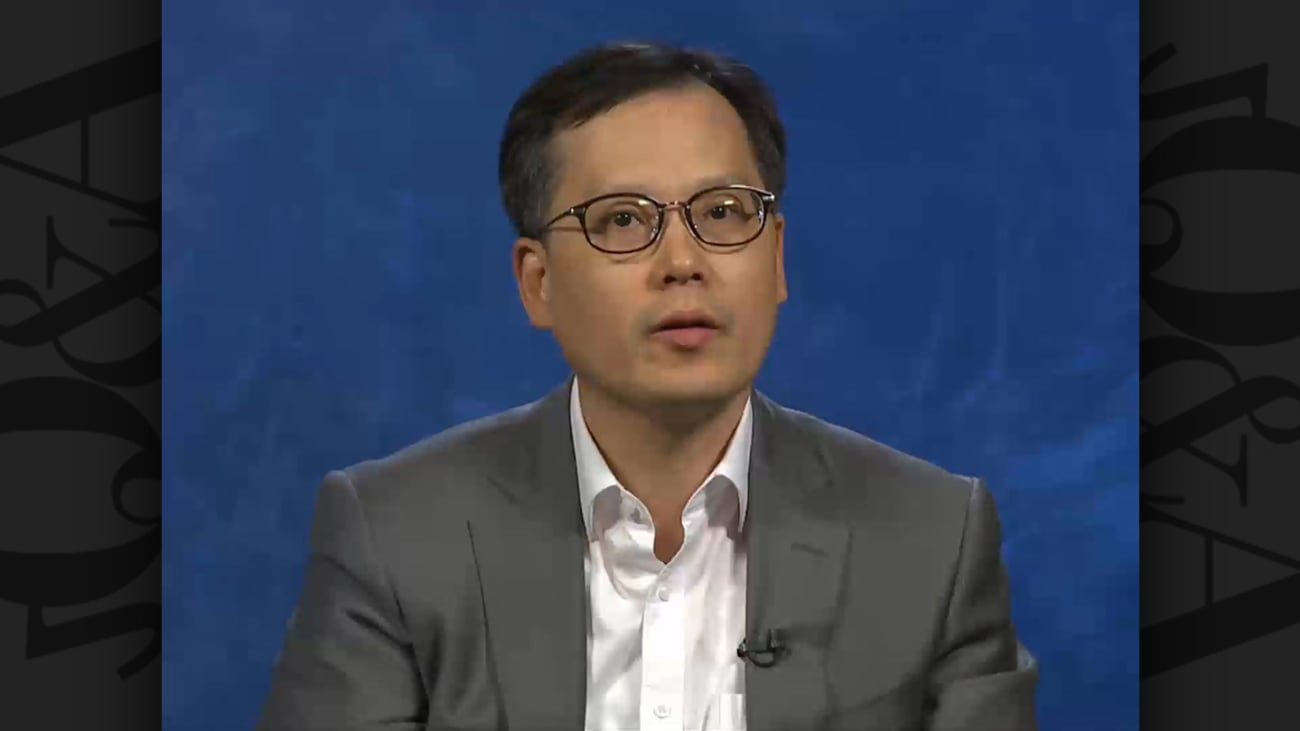 In South Korea, how are you using NGS-based molecular profiling in the setting of NSCLC? (Korean)
