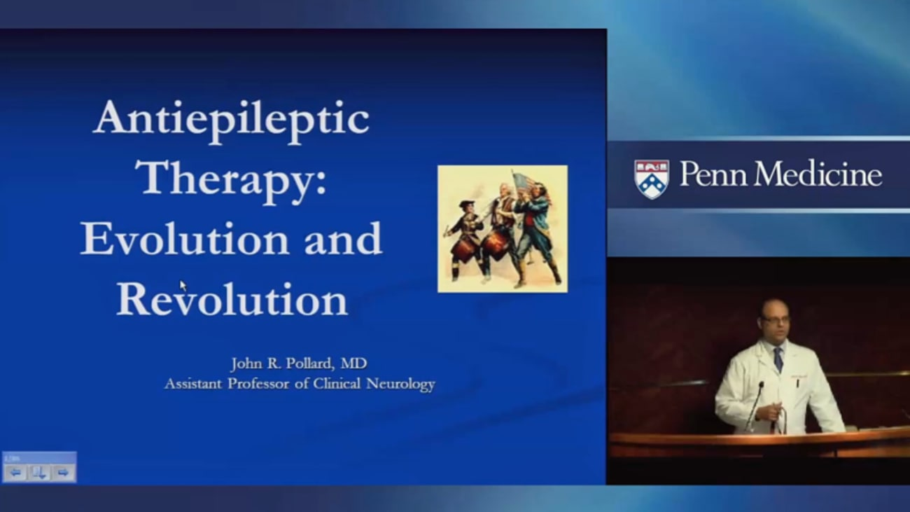 Antiepileptic Therapy: Evolution and Revolution