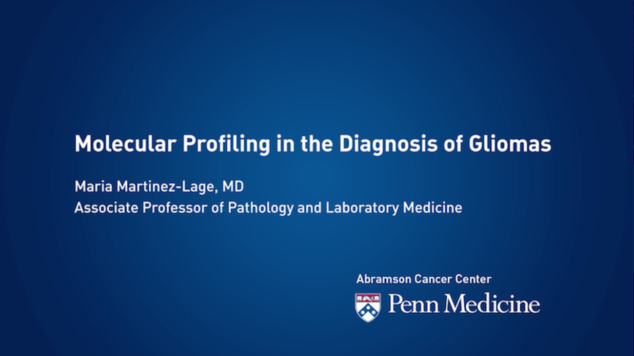 Molecular Profiling in the Diagnosis of Gliomas