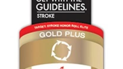 Sibley Receives the Get With The Guidelines®-Stroke Gold Plus Quality Achievement Award With Target: Stroke? Honor Roll Elite