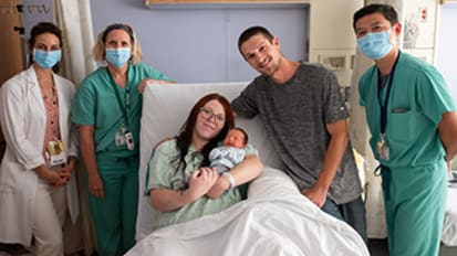 UC Davis Health helps two Fontan patients fulfill their dreams of motherhood