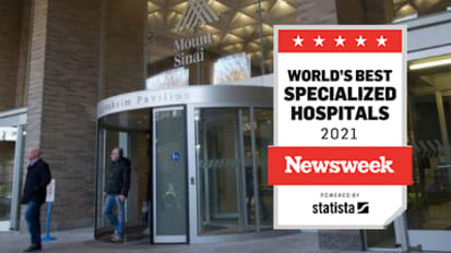 The Mount Sinai Hospital Included in New Ranking of Best Specialized Hospitals from <i>Newsweek</i>