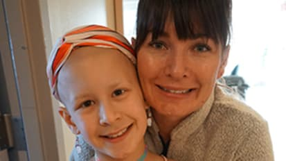 7-year-old's cancer diagnosis led her family to seek out UC Davis Children's Hospital and Lor Randall