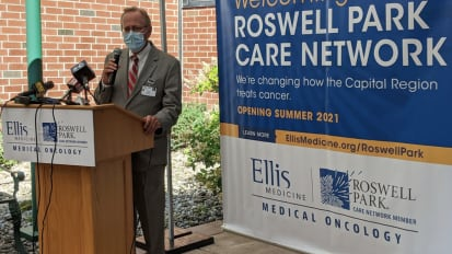 Roswell Park, Ellis Medicine Partner to Expand Access to Cancer Care in the Capital Region