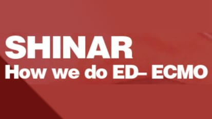 Zack Shinar, MD Speaks at Emergency Medicine Grand Rounds on ED ECMO