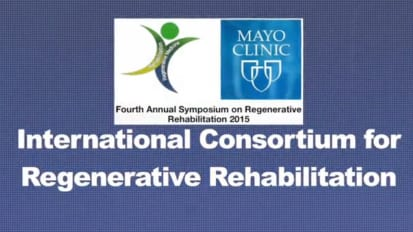 International Consortium for Regenerative Rehabilitation