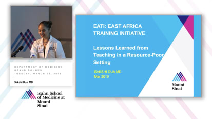 EATI: East Africa Training Initiative; Lessons Learned from Teaching in a Resource-Poor Setting