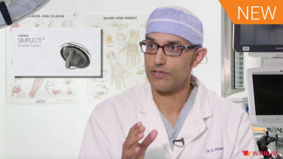 Surgeon Interview with Dr. George Athwal: Bone Preserving TSA using a Stemless Humeral Component [AP-010608]