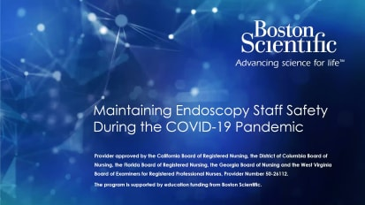 Maintaining Endoscopy Staff Safety in the Midst of COVID-19 (April 15th)
