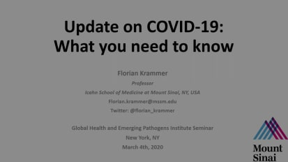 Update on COVID-19: What you need to know