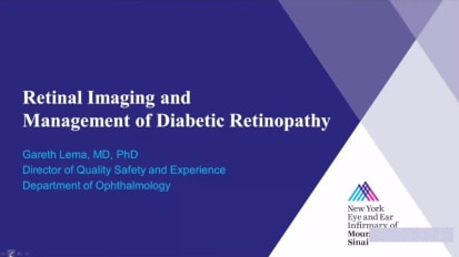 Retinal Imaging and Management of Diabetic Retinopathy