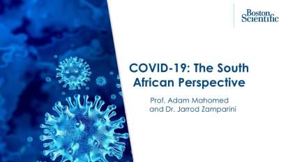 COVID-19: The South African Perspective