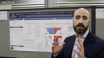 Renal Single Cell Genomics Links Type II Interferon and Lupus Nephritis in African-Americans