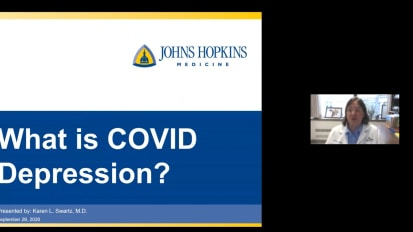 "Psychiatry Grand Rounds: ""What is COVID Depression?"""