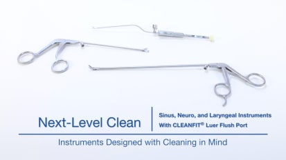 Next Level Clean – Sinus, Neuro and Laryngeal Instruments