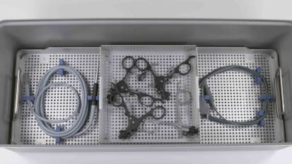 Assembly Guide - Extended Length Laparoscopic Instrument Set Container System