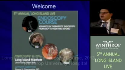 2013 LI Live Endoscopy Course: Overview