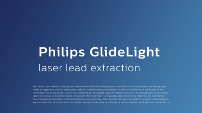 Philips VisiSheath Laser Lead Extraction