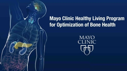 Mayo Clinic Healthy Living Program for optimization of bone health