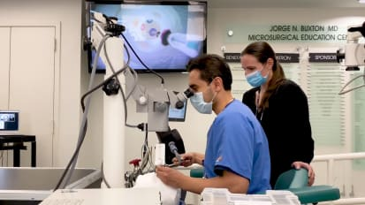 NYEE Pioneers the First Clinical Robotic Interventional System for Ocular Surgery in America