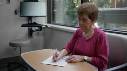 Self-Administered Test Helps Spot Early Alzheimer's