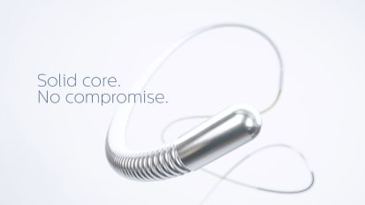 Philips OmniWire<br>pressure guide wire