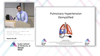 Pulmonary Hypertension Demystified