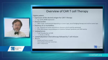 CAR T-cell and Transplant: Cellular Therapies for Malignant Disease