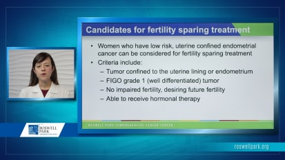 Fertility Sparing Treatment in Gynecologic Oncology
