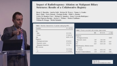 Endoscopic Management of Hilar Cholangiocarcinoma, Clinical Evidence Overview and Case Review Video Presentation, Michel Kahaleh, M.D.