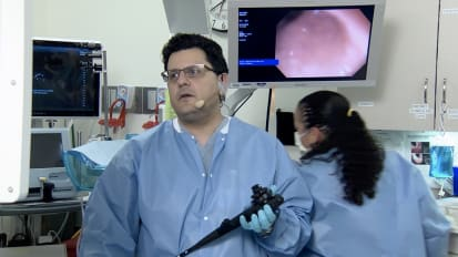 Rectal Endoscopic Submucosal Dissection (ESD) with ORISE-TRS & Creosoting speedboat ESD knife