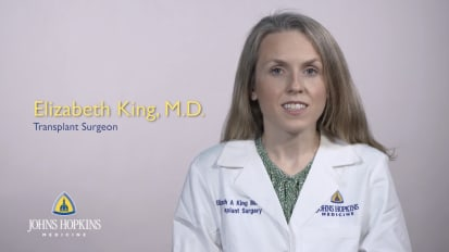 Elizabeth King, M.D. - Transplant Surgeon