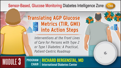 Interpretation of Sensor-Based Glucose Metrics, Time in Range (TIR) and Ambulatory Glucose Profiles (AGP) - Module 3 - ACT
