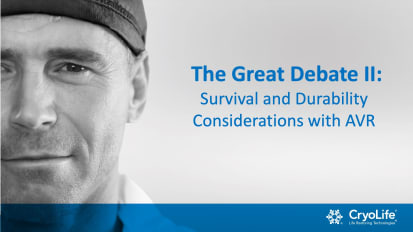 The Great Debate II: Survival & Durability Considerations with AVR