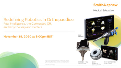 Redefining Robotics in Orthopaedics: Real Intelligence, the Connected OR, and why the implant matters