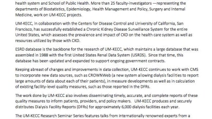 Chronic Kidney Disease Surveillance System established for the United States