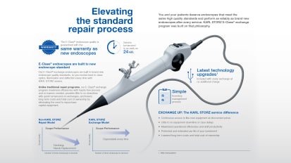 E-Class<sup>®</sup> Brochure – Flexible Endoscopes