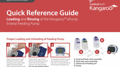 Kangaroo™ ePump Quick Reference Guide