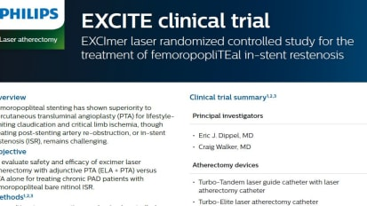 EXCITE clinical trial abstract