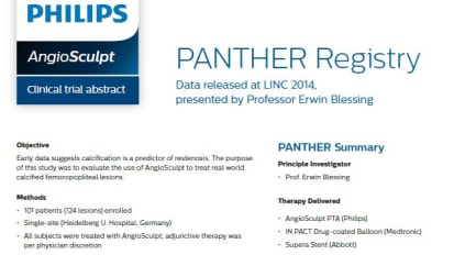 PANTHER clinic abstract
