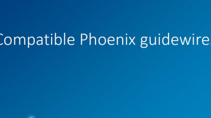 Guidewires Compatible for Use with the Phoenix Atherectomy System Tracking Catheters