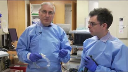 Demonstrating the Hydrostatic Technique Using a Hydrophilic Guidewire, by David Carr-Locke, MD