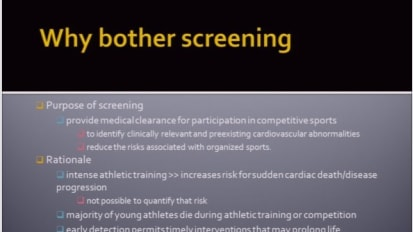 The Silent Killer in Young Athletes: Sudden Cardiac Death